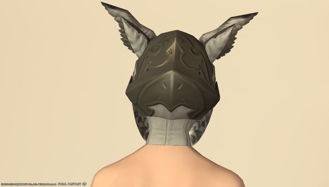 オウルリージュ頭背面