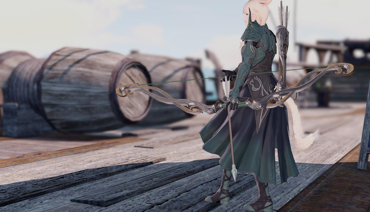 オシュオンレンジャー装備詩人武器