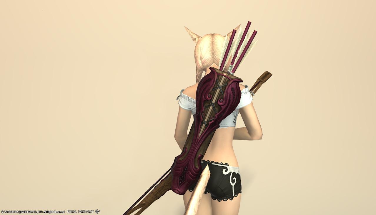 オシュオンレンジャー詩人武器ロランベリーレッド矢筒