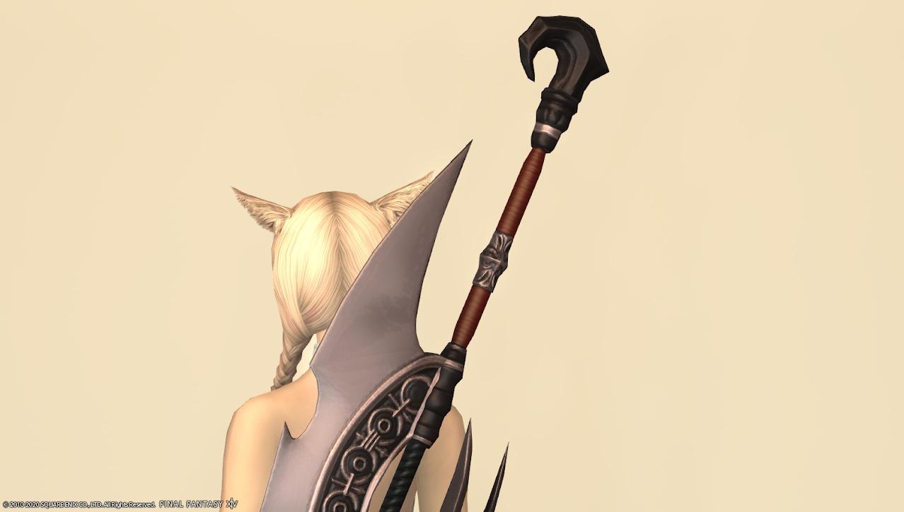 キングベヒーモス暗黒騎士武器上部アップ