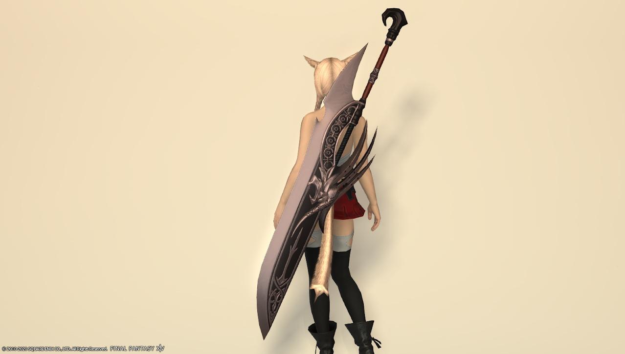 キングベヒーモス暗黒騎士武器