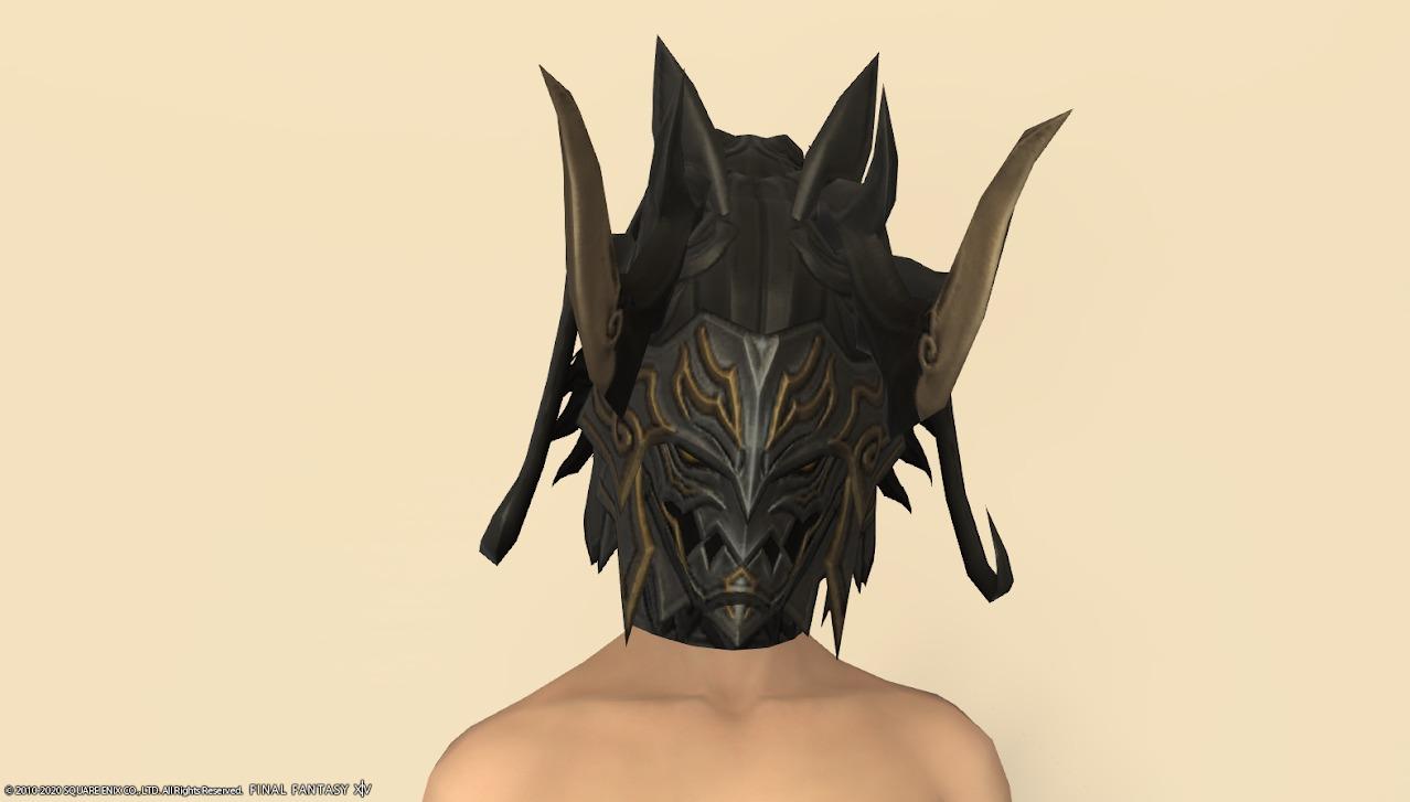 ディセンドドラゴン頭