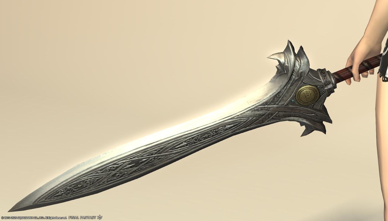 ハルオーネディフェナイト武器剣アップ