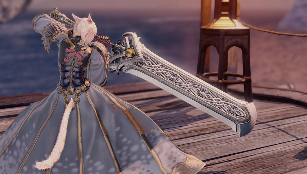 ハルオーネディフェ暗黒騎士武器