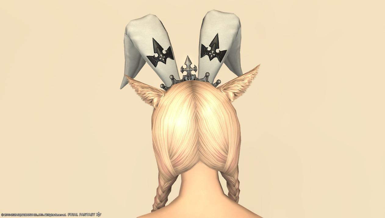 バニーチーフ頭背面