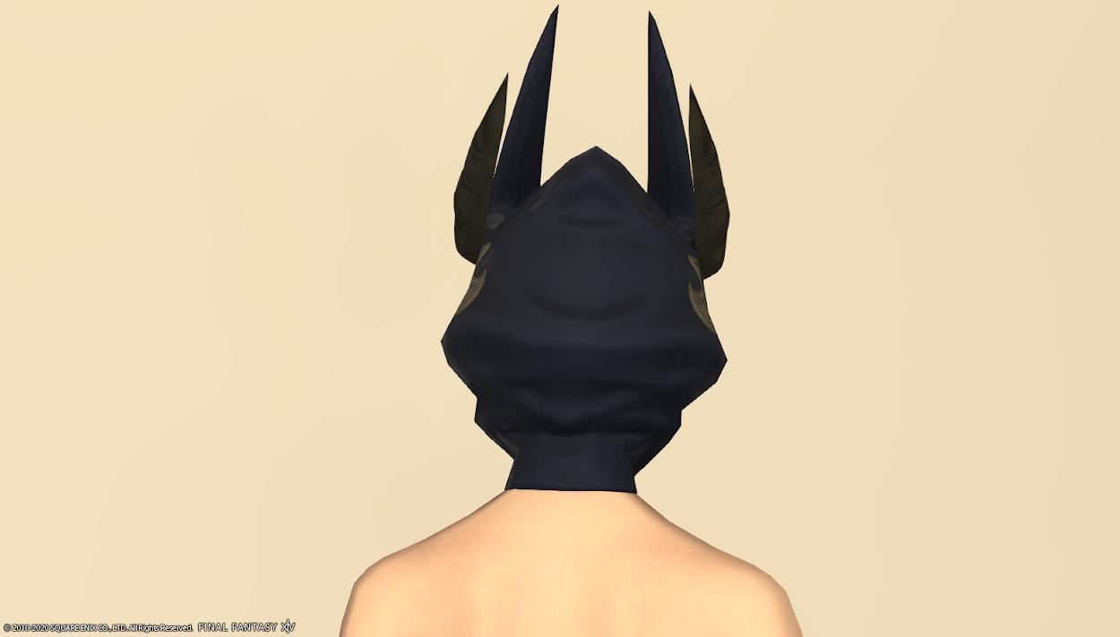ブラックグリフィン頭背面