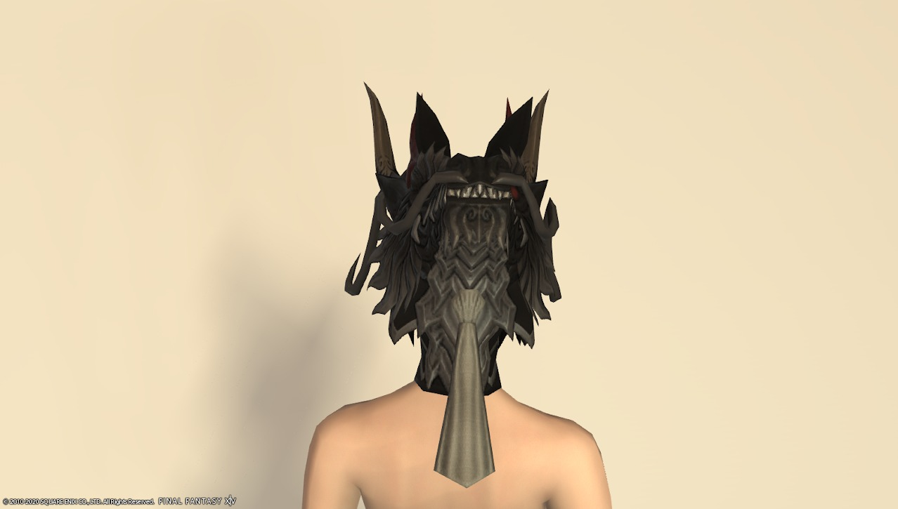 ライズドラゴン装備頭背面