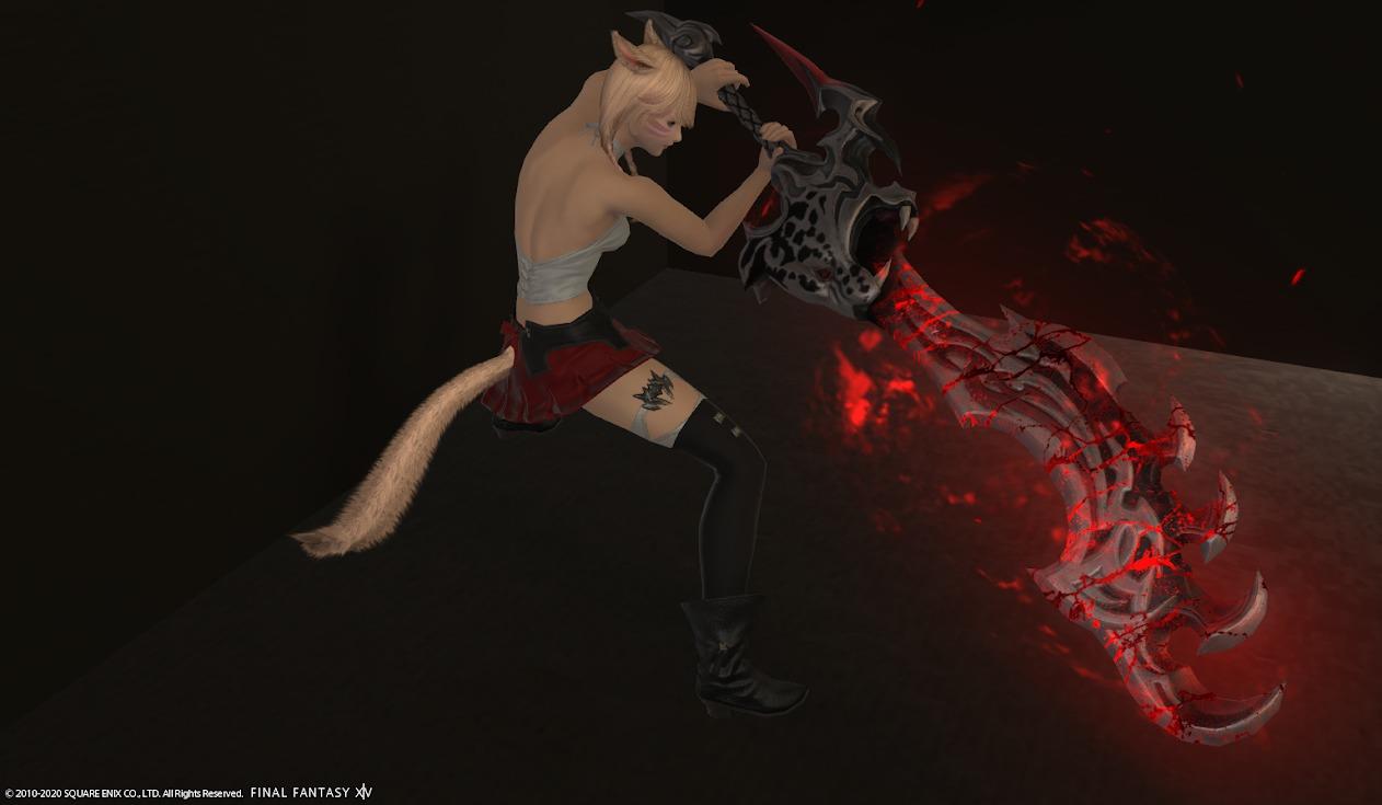 リンクスリージュ暗黒武器ライトダウン