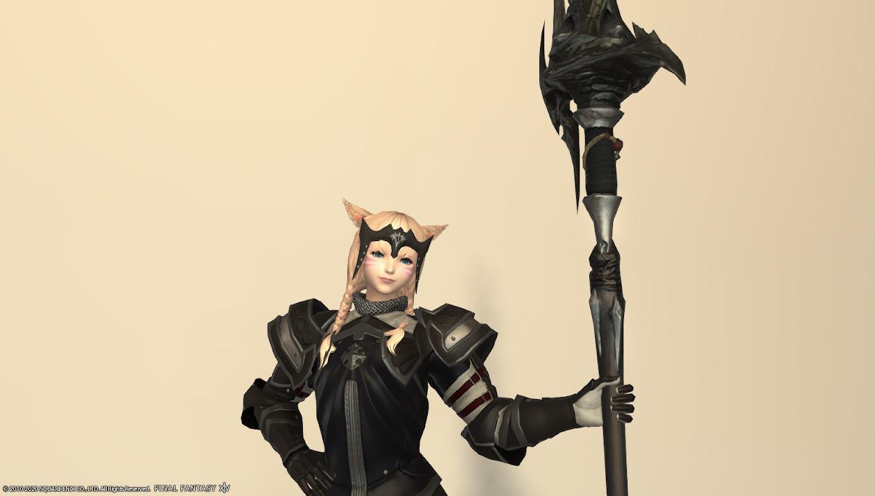 レイクランドスレイヤー装備竜騎士武器合わせ抜刀ポーズ