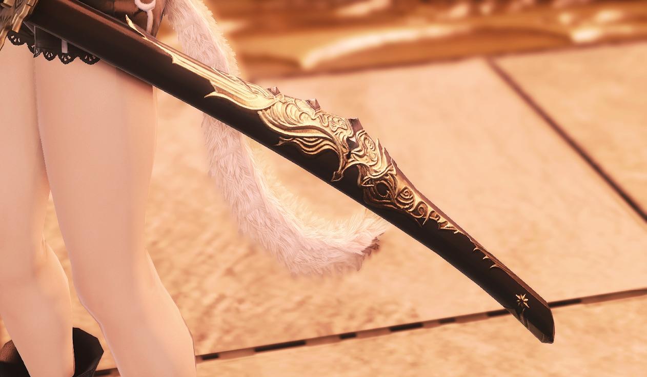 教皇庁侍武器納刀