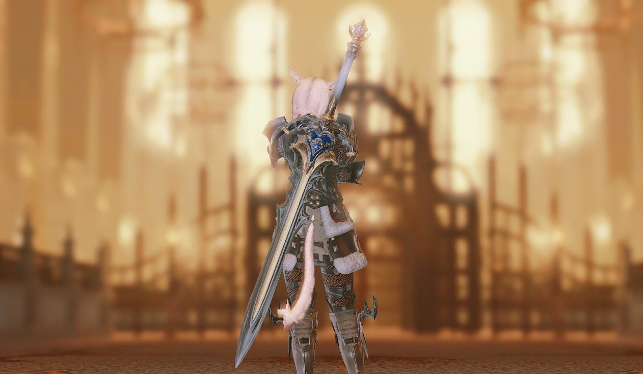 教皇庁暗黒騎士武器合わせ