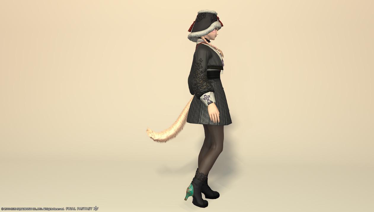 東方美姫衣装セット全身サイド
