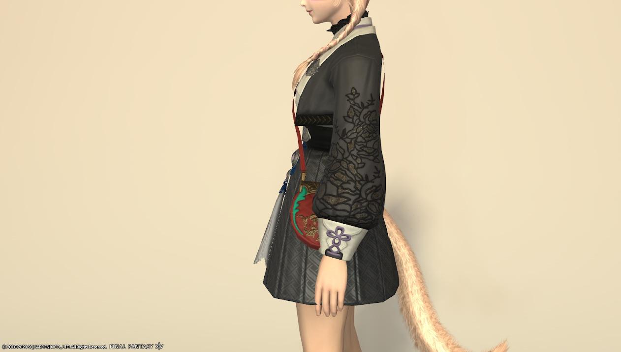 東方美姫衣装セット胴サイド