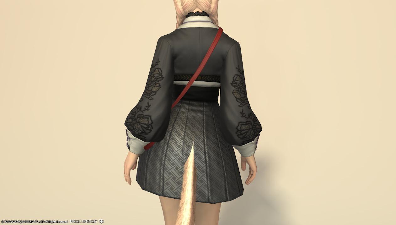 東方美姫衣装セット胴背面