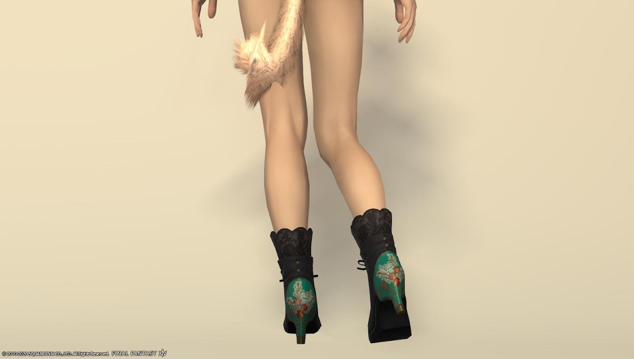 東方美姫衣装セット足背面