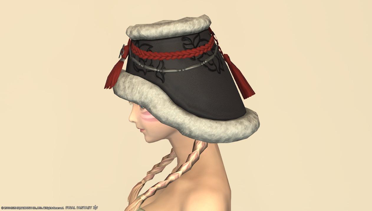 東方美姫衣装セット頭サイド