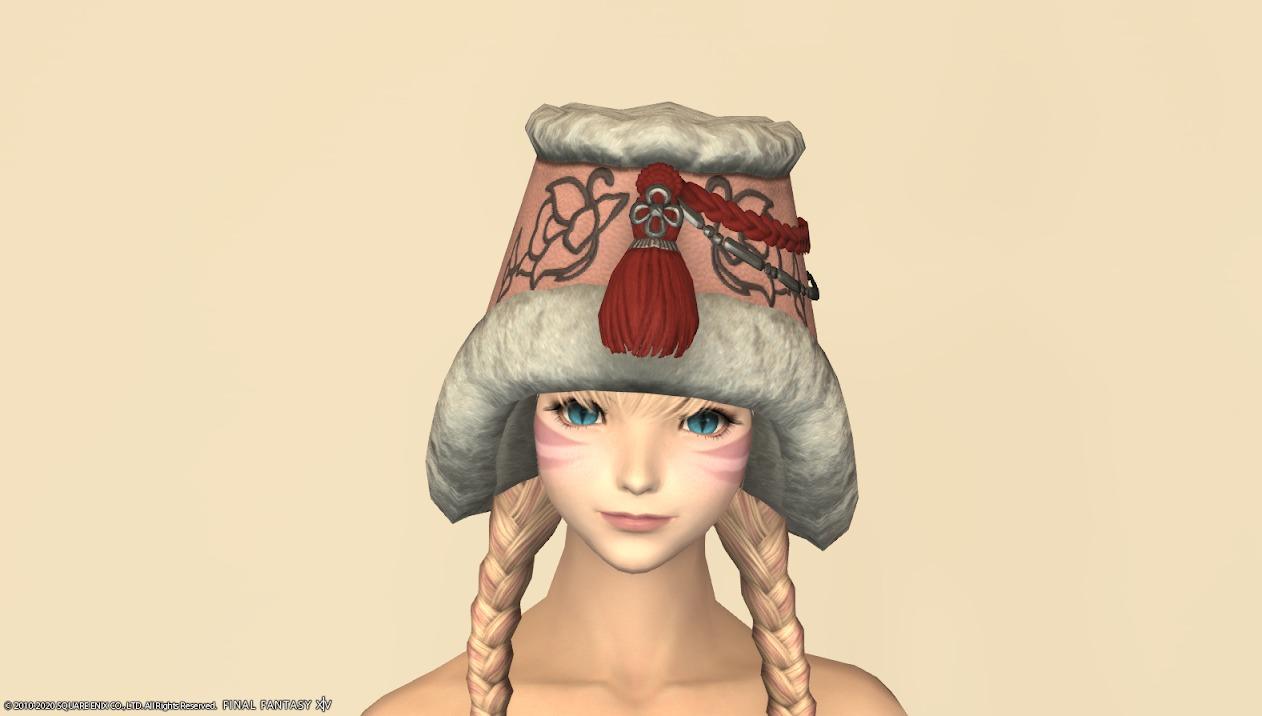 東方美姫衣装セット頭ローズピンク