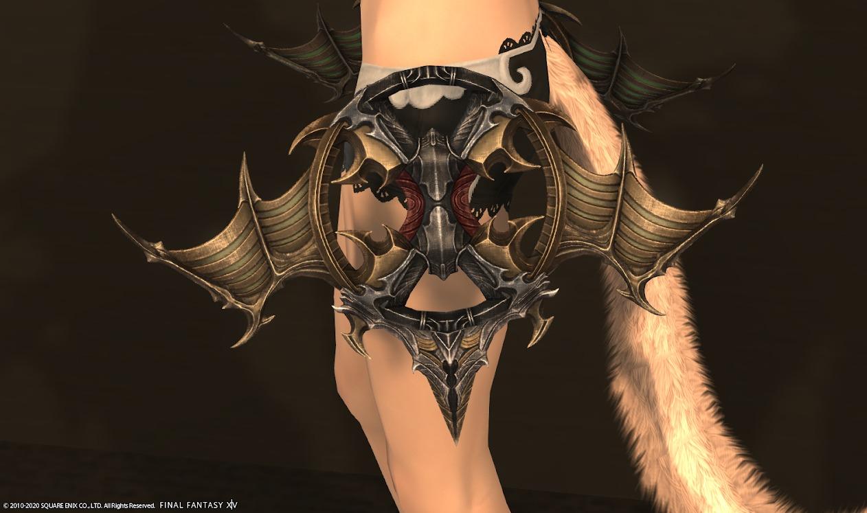 極神龍踊り子武器納刀