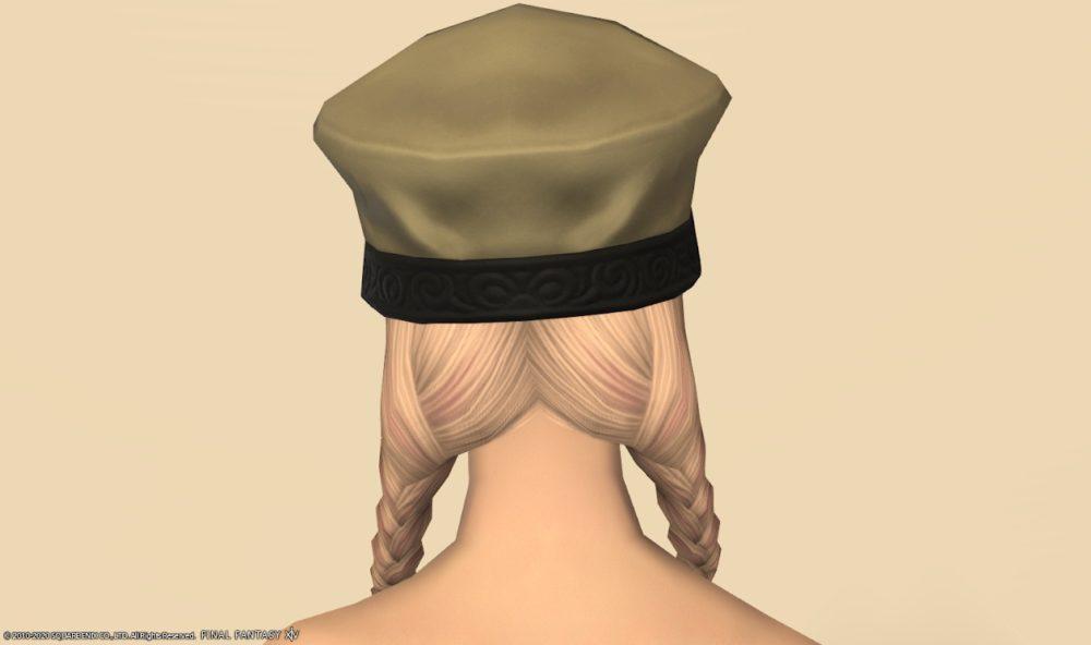 イリディセントヒーラー頭背面