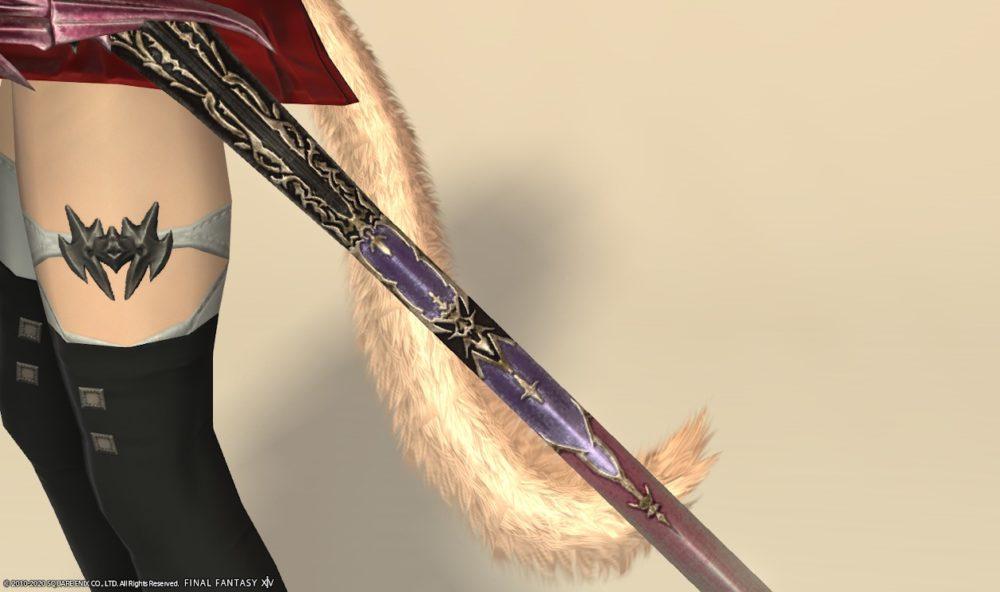 エデンコーラス赤武器チェリーピンク剣先