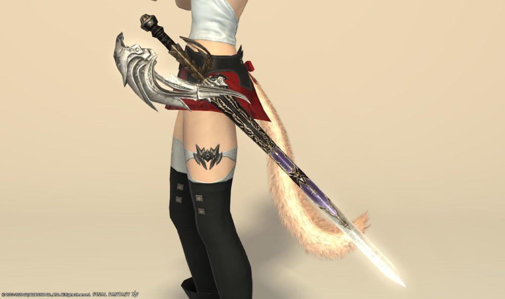 エデンコーラス赤武器納刀