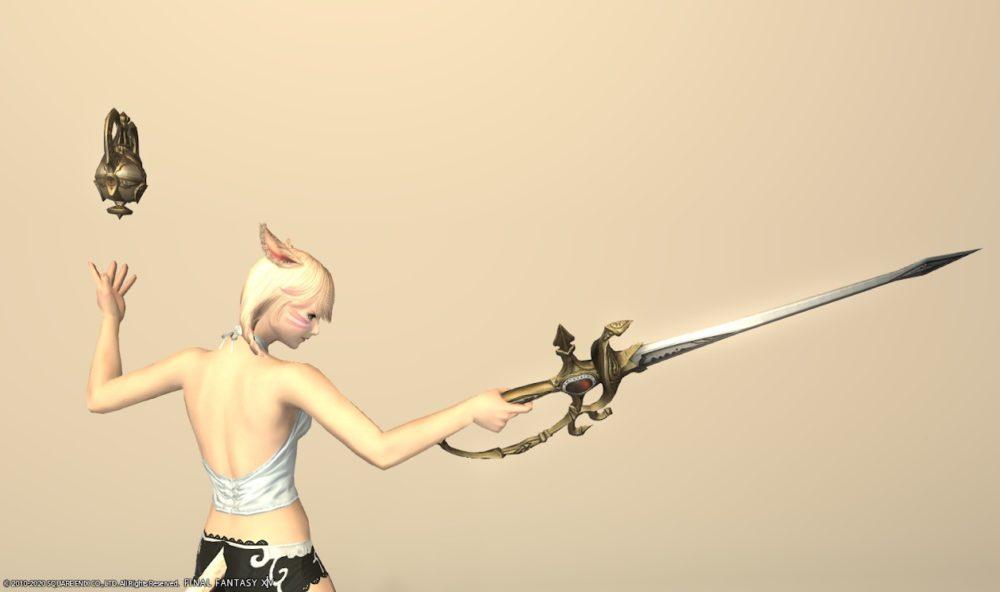 グブラキャス赤武器抜刀