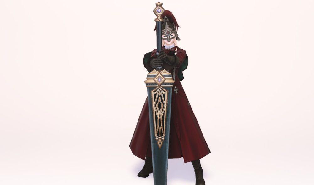 グブラタンク暗黒騎士武器合わせ抜刀