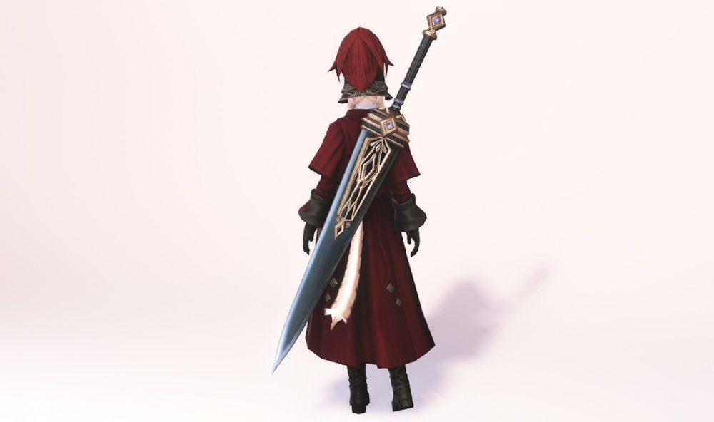 グブラタンク暗黒騎士武器合わせ納刀