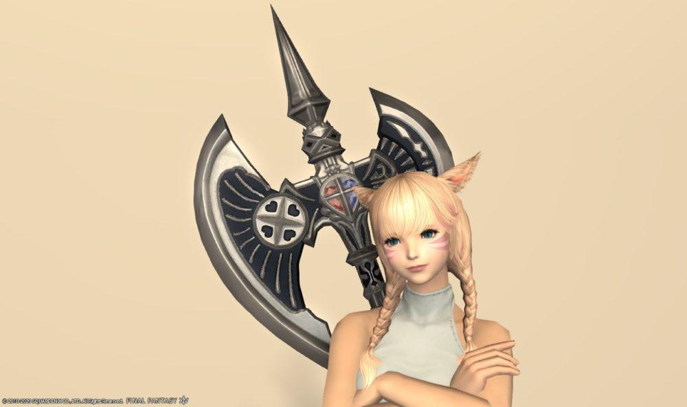 グブラ戦士武器背面