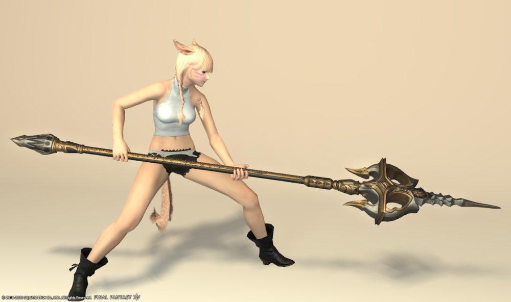 グブラ竜騎士武器抜刀