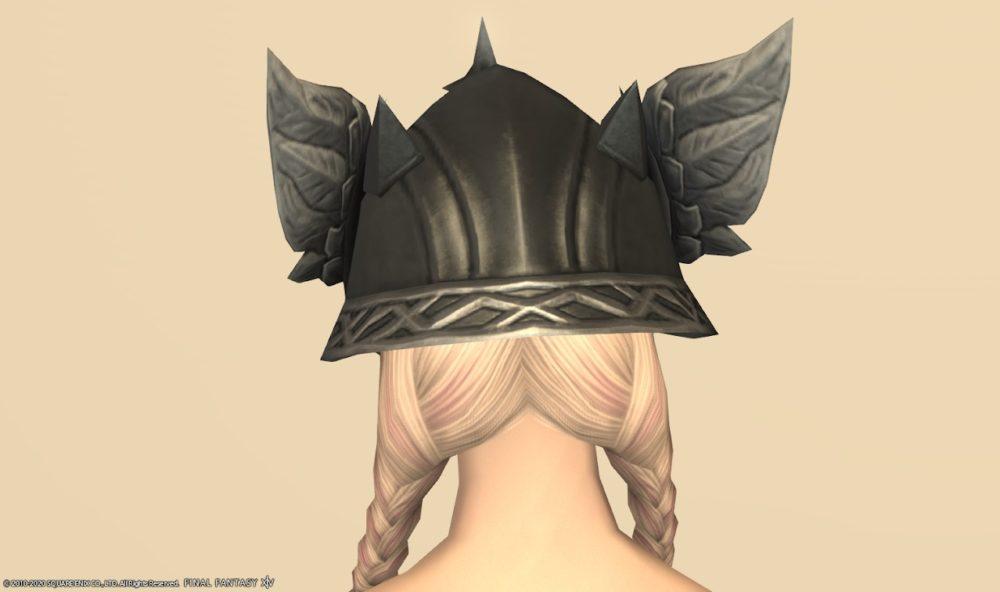 グブラ竜騎士頭背面
