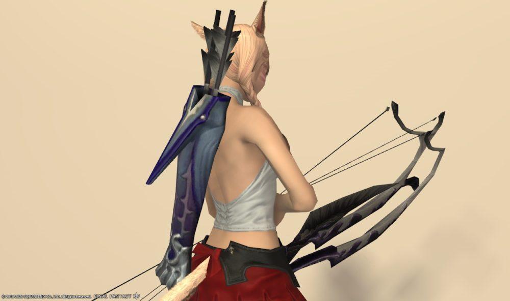 バードソング詩人武器矢筒サイド