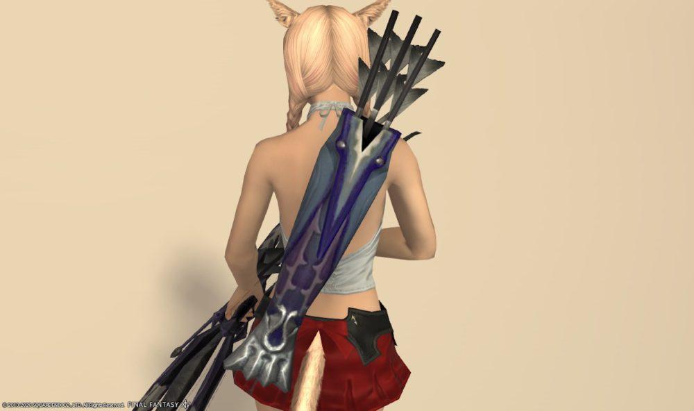 バードソング詩人武器矢筒
