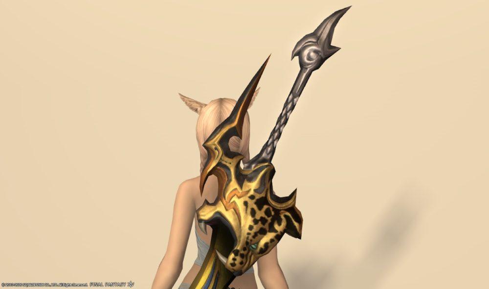 リンクスファング暗黒騎士武器上部