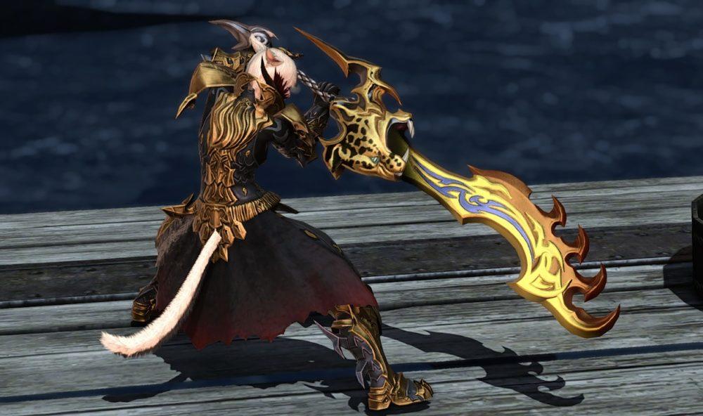 リンクスファング暗黒騎士武器合わせ抜刀