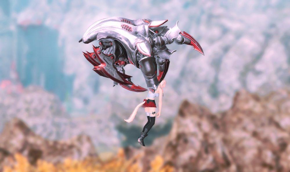 魔導デスクロー拘束型飛行サイド