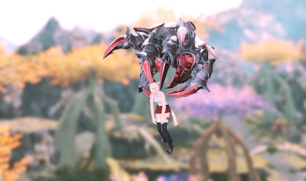 魔導デスクロー拘束型飛行