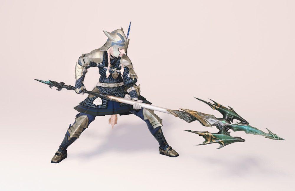 ウォーウルフスレイヤー竜騎士武器合わせ抜刀