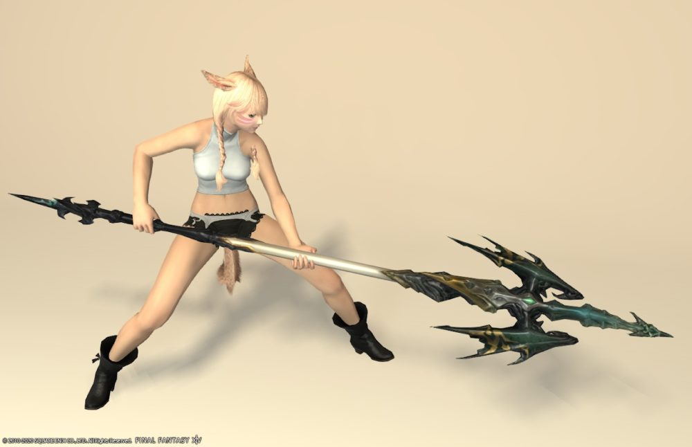 ウォーウルフスレイヤー竜騎士武器抜刀