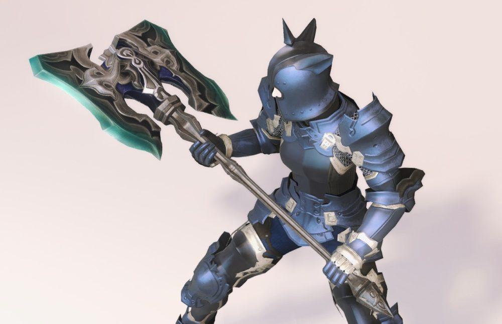ウォーウルフディフェンダー戦士武器合わせ抜刀