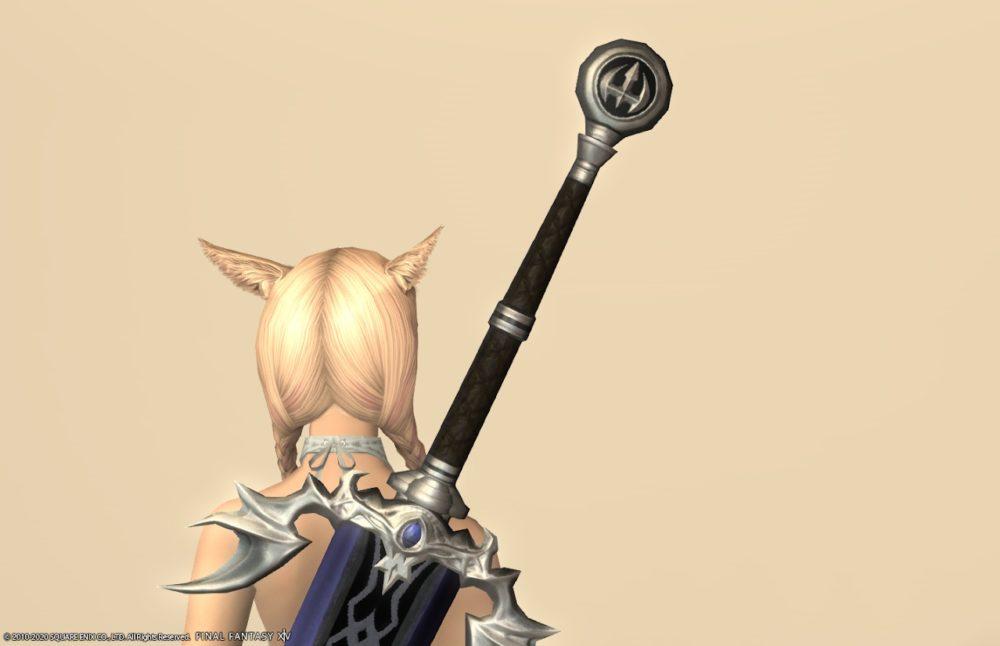 ウォーウルフディフェンダー暗黒騎士武器上部