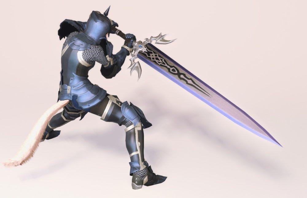ウォーウルフディフェンダー暗黒騎士武器合わせ抜刀