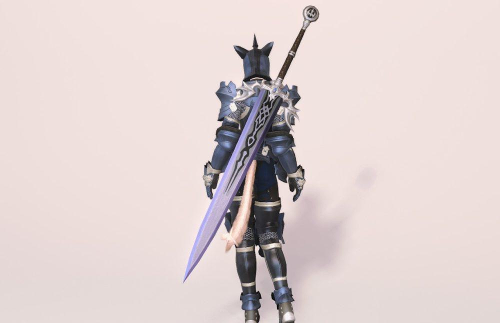 ウォーウルフディフェンダー暗黒騎士武器合わせ
