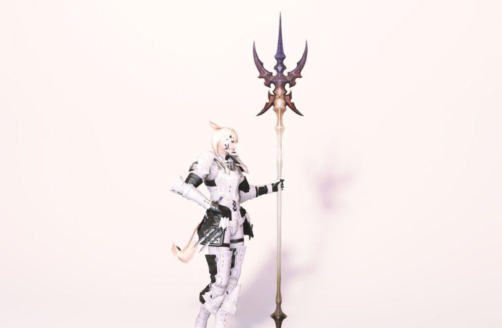 ダイアウルフスレイヤー竜騎士武器合わせ抜刀ポーズ