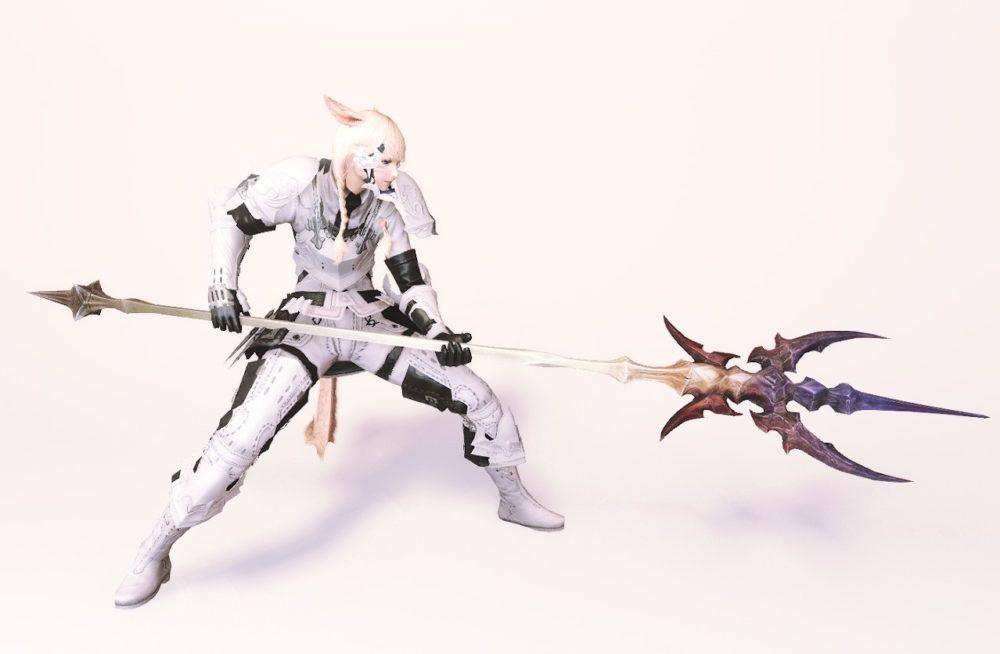 ダイアウルフスレイヤー竜騎士武器合わせ抜刀