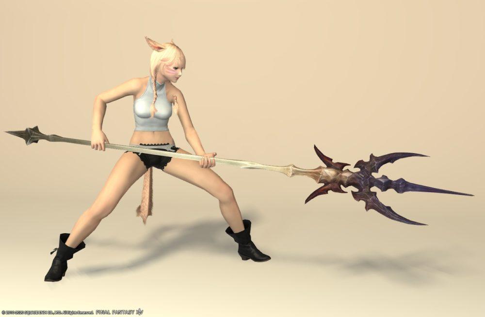 ダイアウルフスレイヤー竜騎士武器抜刀