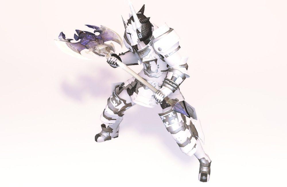 ダイアウルフディフェンダー戦士武器合わせ抜刀