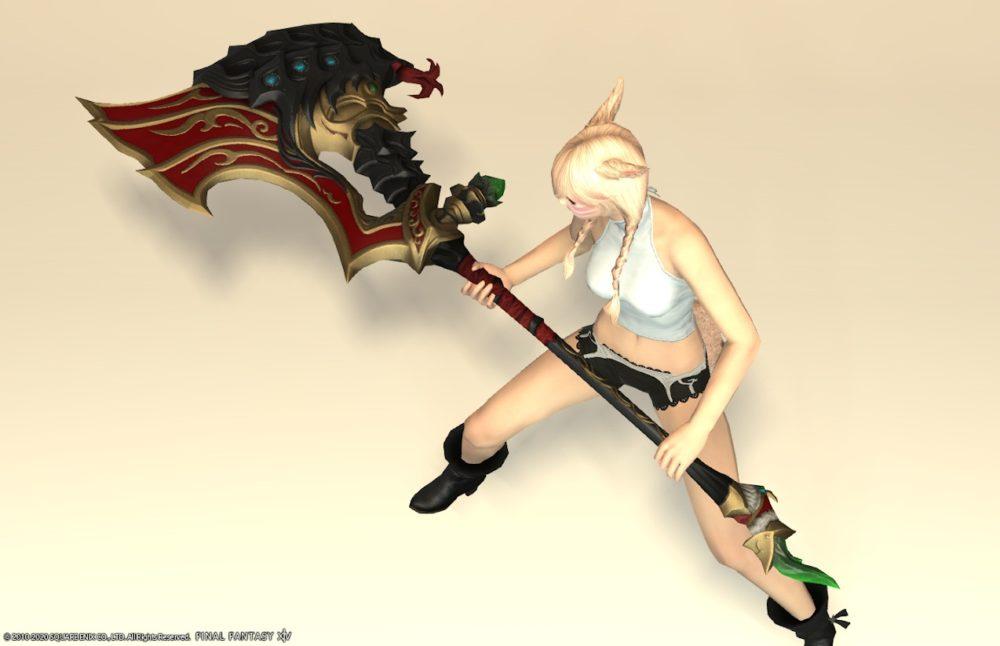 紫水宮戦士武器抜刀