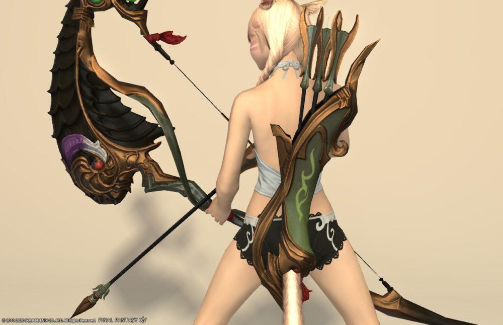 紫水宮詩人武器矢筒