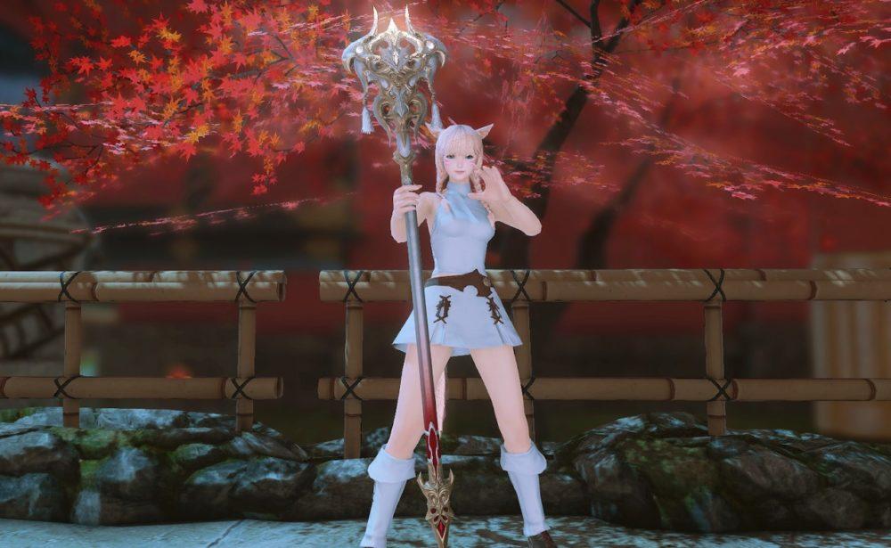 ウォーリアオブライト白魔道士武器